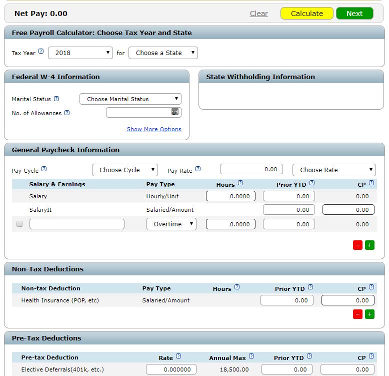 top 5 hourly wage calculators online