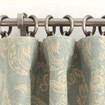 DIY Bathroom Curtain Using Round Rings 5 Simple Steps