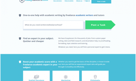 Essay Writers Online: Meet EssayLancers.com, a New Academic Writing Platform!