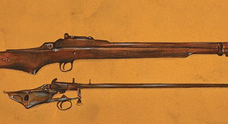 What is the history of the bullpup rifle?